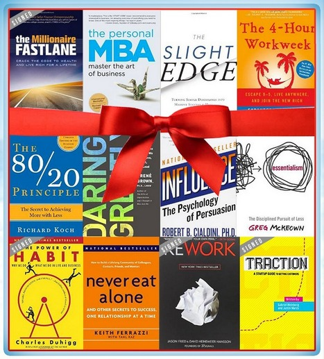 12 Essential Books for Small Businesses Giveaway | Content Marketing | Scoop.it