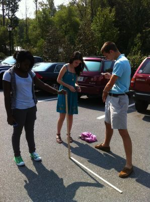 Measuring the earth with skype and a stick | Physics Activities | Scoop.it
