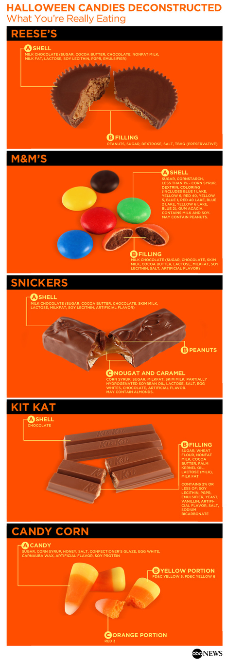 Halloween Candies, Deconstructed   The Miracle of Fall   Scoop.it