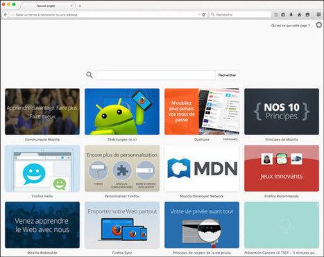 Comment afficher un site web de son choix pour nouvel onglet Firefox ? | Freewares | Scoop.it