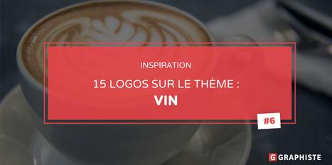 15 exemples de logo sur le thème du vin - Graphiste.com | Web Increase | Scoop.it