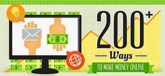 Greatest Ways to Make Money Online [Infographic] - Money Makers Ideas | BOOST! Your Blog | Scoop.it
