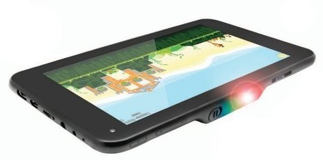 Promate LumiTab Android Tablet Features a DLP Pico-Projector | Embedded Software | Scoop.it