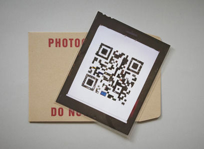 QR Code made out of objects | TheCoolCollector | VIM | Scoop.it