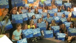"""Library to hold """"Paint the Night Away"""" fundraiser at Spirited Art 