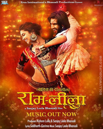 New colourful and vibrant poster of Ram Leela released! ~ Latest and Upcoming Bollywood Hindi Movies | Bollywood Celebrities News, Photos and Gossips | Scoop.it