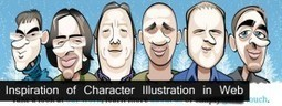 Downgraf – Design weblog for designers » Inspiration of Character Illustration in Web Designs | Basics and principles for a good  Web Design | Scoop.it