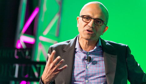 Microsoft CEO Satya Nadella Has Much To Say About Artificial Intelligence | The Rise of the Algorithmic Medium | Scoop.it