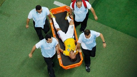 Neymar out of World Cup | FIFA World Cup Brazil 2014 | Scoop.it