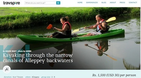 Travspire wants to inspire travellers to experience handpicked activities | Travel & Tourism | Scoop.it