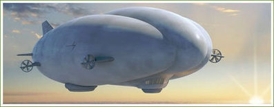 Are Airships Efficient Enough for EcoGeeks? | Sustainable Air Transportation Design | Scoop.it