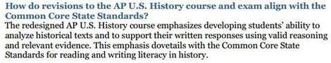 Advanced Placement U.S. History to Undergo Changes | Beyond the Stacks | Scoop.it