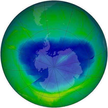 Daily Kos: Ozone treaty accidentally slowed global warming   Sciences   Scoop.it