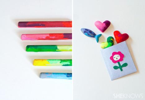 Loisirs créatifs : Des crayons DIY ! - IdKid, blog activités manuelles | Activités manuelles | Scoop.it
