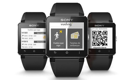 airlinetrends.com » Vueling launches world's first 'smart watch' boarding pass | Schiphol by Red Urban | Scoop.it