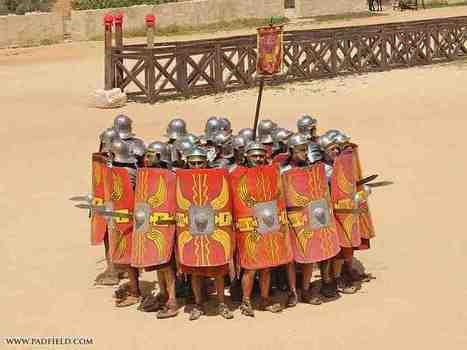 Formaciones y Tácticas del Imperio Romano - Revista de Historia | Mundo Clásico | Scoop.it