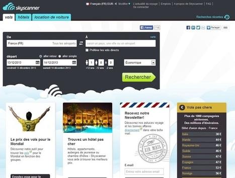 Skyscanner : « Le mobile tire la croissance » (VIDEO) | MBA | Scoop.it