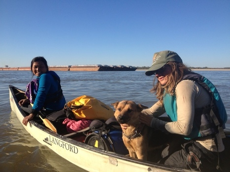 Paddle Forward Pushes Into Final Days of Mississippi Expedition - WUWM | Hunting Gears | Scoop.it