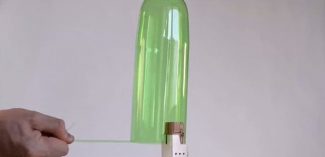 VIDEO. Comment transformer une bouteille en fil de plastique | 694028 | Scoop.it