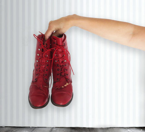 Vintage Rodeo Drive Red Lace Up Kiltie Boots, Red Boots, Lace Up Boots, Size 9M | DustyDesert vintage | Scoop.it