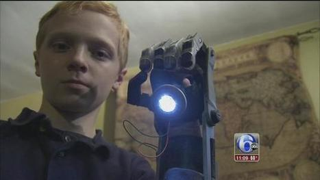 Delaware boy creates prosthetic hand with library 3D printer | innovative libraries | Scoop.it