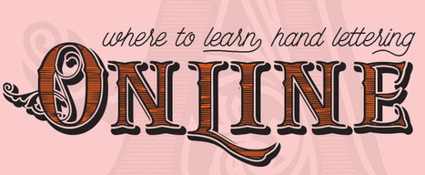 Where to Learn Hand Lettering Online | Artdictive Habits : Sustainable Lifestyle | Scoop.it