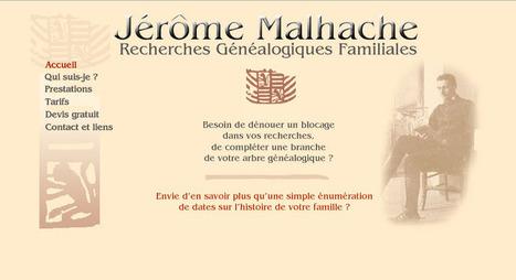 Entretien avec Jérôme Malhache, généalogiste professionnel - MyHeritage.fr - Blog francophone | Rhit Genealogie | Scoop.it