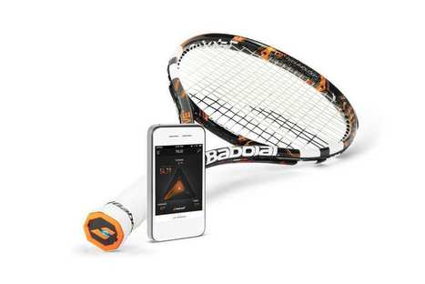Babolat lance sa raquette connectée en Europe | Mobile apps & Innovation | Scoop.it