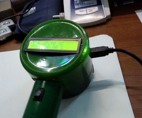 A hand held thermo-hygro meter based on Arduino with MATLAB live data plotting feature | Arduino, Netduino, Rasperry Pi! | Scoop.it