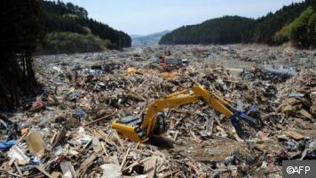 Le tsunami s'est retiré mais le nord-est du Japon reste désolé | actualités voila | Japon : séisme, tsunami & conséquences | Scoop.it