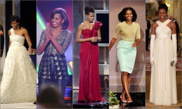 Michelle Obama Named Best Dressed Woman | Celebrity News ... | women's life style | Scoop.it