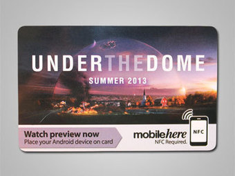 "NFC Cards Promote ""Under the Dome"" TV Show at SXSW 2013 - GoToTags 
