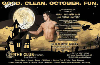 Club St Louis Newsletter - October 2016 | Gay Saunas from Around the World | Scoop.it