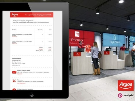 Argos rolls out digital receipts to nail down its single customer view | The Digital High Street | Scoop.it