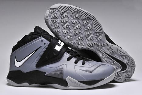 Nike Soldier 7 Basketball Shoes Dark Grey Metallic Silver Colorways | popular list | Scoop.it