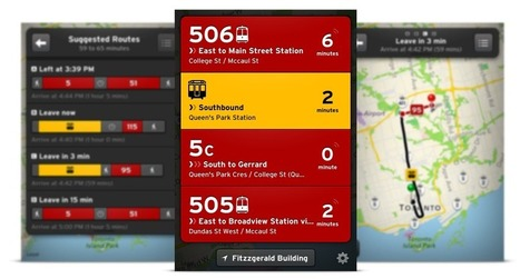 How tiny commuting app Transit is beating Google Maps in Canada | great buzzness | Scoop.it