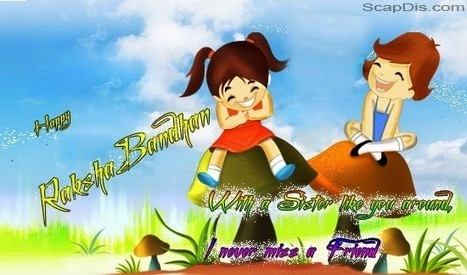 Happy Raksha Bandhan Quotes,SMS,Poems,Wishes,Greetings With Animated Images   Social Bookmarking Sites   Scoop.it