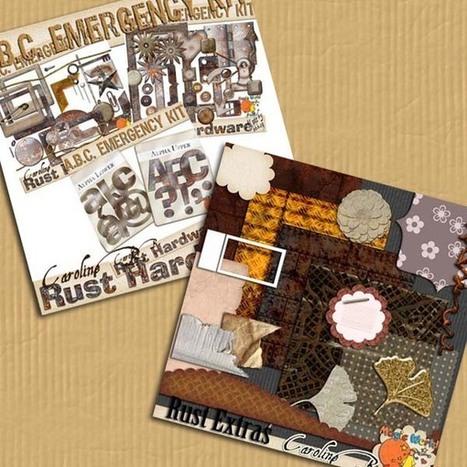 ABC Emergency Rust Bundle - $7.00 : Caroline B., My Magic World of Digital Design | SCRAPBOOKING | Scoop.it