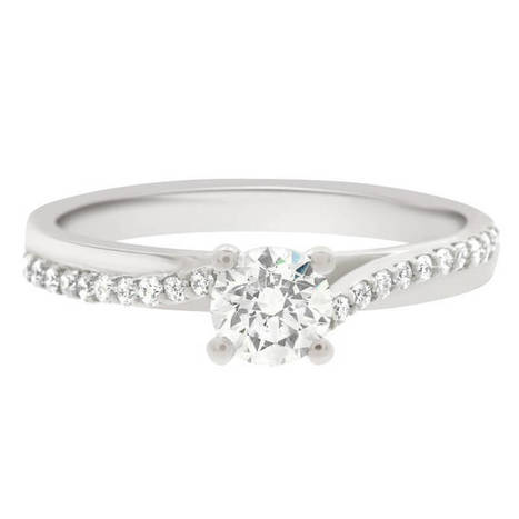 Engagement ring dublin is a round brilliant diamond set in white gold | Engagement Rings Dublin. | Scoop.it