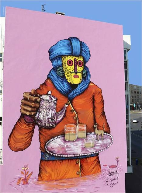 Wall Drawings Icônes urbaines - MAC Lyon - Paris Art   Le Mac LYON dans la presse   Scoop.it