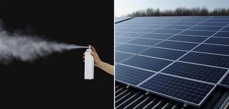 SprayLD : le spray qui transforme n'importe quel support en panneau photovoltaïque | Innovations urbaines | Scoop.it