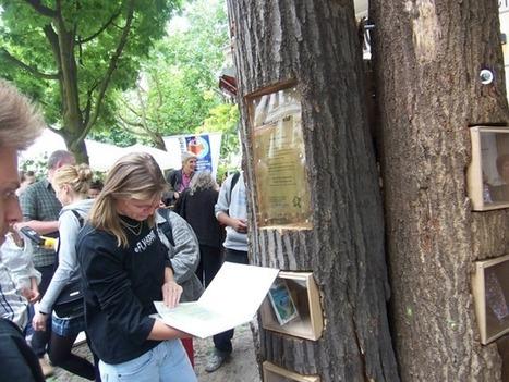 Berlino, gli alberi diventano distributori di libri gratuiti | Conetica | Scoop.it