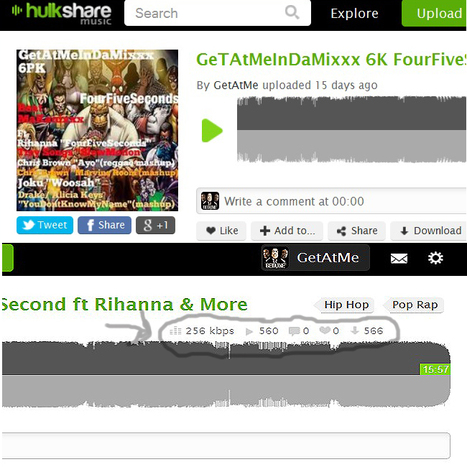 GetAtMeInDaMixxx gets a 1.01 L to E (560 listen to 566 engagements #Wow) #NowThatsAMix | GetAtMe | Scoop.it
