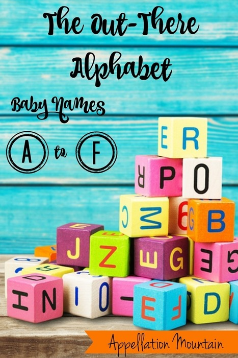 """Let's play the """"out there"""" baby names game! Your input is needed! :) 