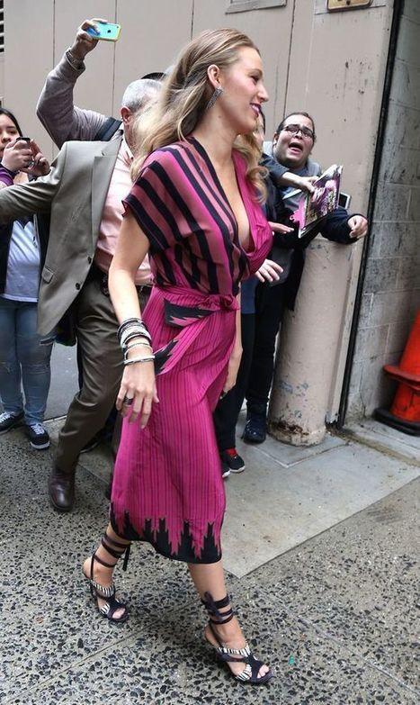 Photos : Oops le sein sexy de Blake Lively à New York   Radio Planète-Eléa   Scoop.it