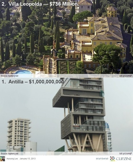Top 10 Most Expensive Homes in the World | Clipzine Pages | Scoop.it