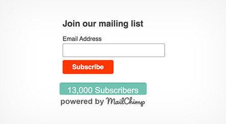 How to Show Your MailChimp Subscriber Count in WordPress | WordPress Website Optimization | Scoop.it