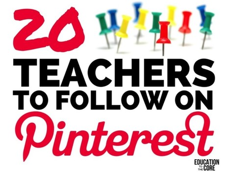 20 Teachers to Follow on Pinterest | Cool School Ideas | Scoop.it