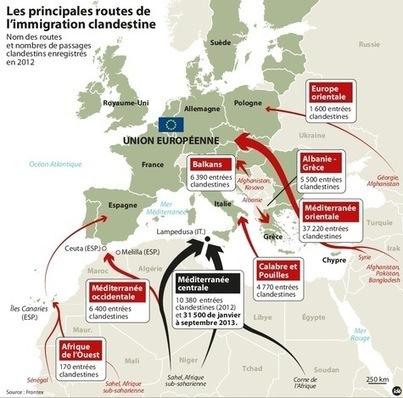 Comment l'Europe cherche à contrôler ses frontières | La-Croix.com | Frontières et espaces frontaliers dans le monde. | Scoop.it