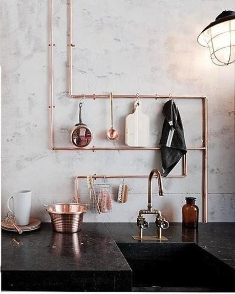 Détourner le cuivre dans la cuisine | DecoCrush blog déco, idées déco | décoration & déco | Scoop.it